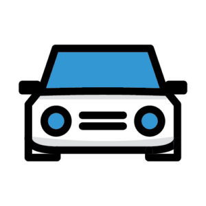 Icon illustration of car
